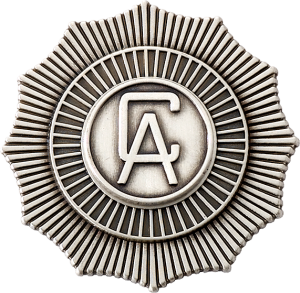 4328 Cap Badge