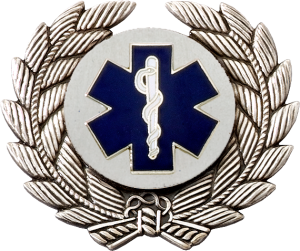 6378 EMT Cap Badge