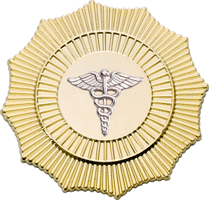 4328 EMT Cap Badge