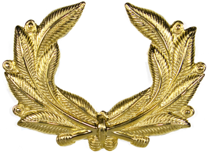 2489 Cap Badge Wreath