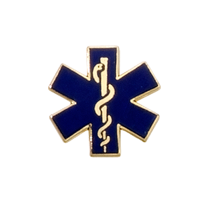 EMT Emblem 5157 - Star of Life
