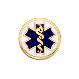 EMT Emblem 5277 - Star of Life