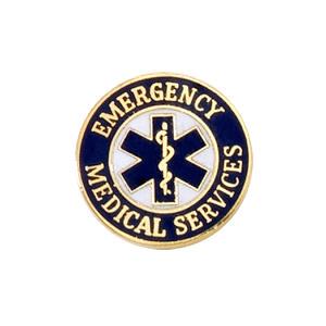 EMT Emblem 5736 - Star of Life