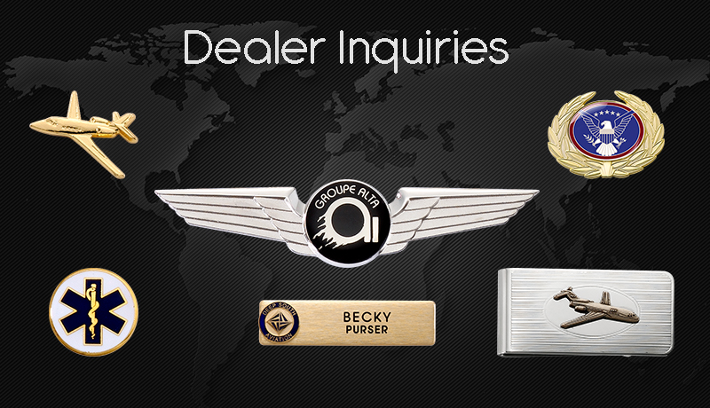 Aviation Jewelry and Insignia Dealer